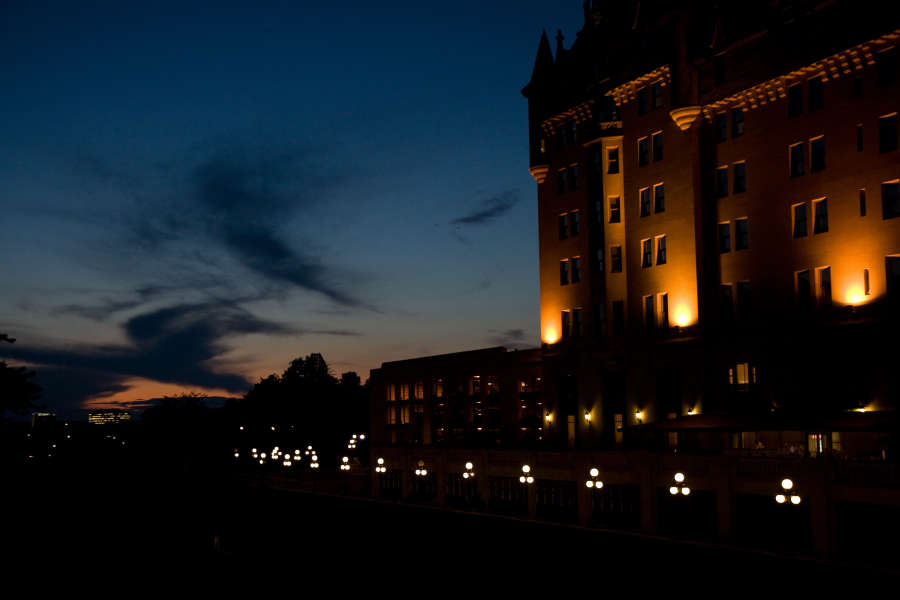 Sunset at the Chateau Laurier, $$0.0000