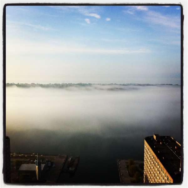Fog over Toronto Islands, $$0.0000