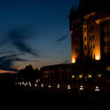 Sunset at the Chateau Laurier